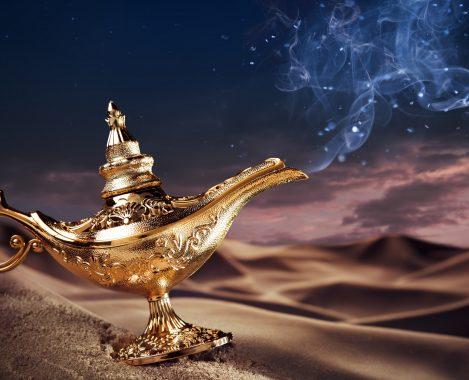 18 Aladin et la lampe magique
