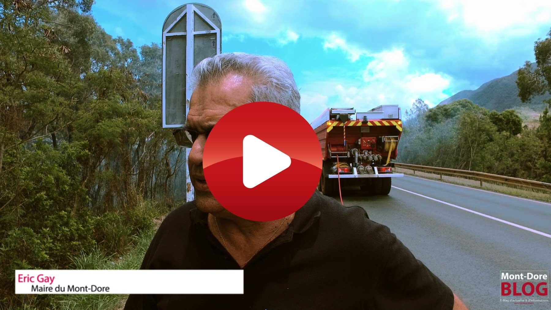 ITW Eric Gay Incendies Mont dore Vidéos à la une