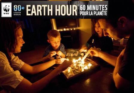 Jeu concours Earth Hour WWF