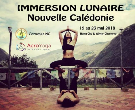 AcroYoga Lunar Immersion Noumea New Caledonia