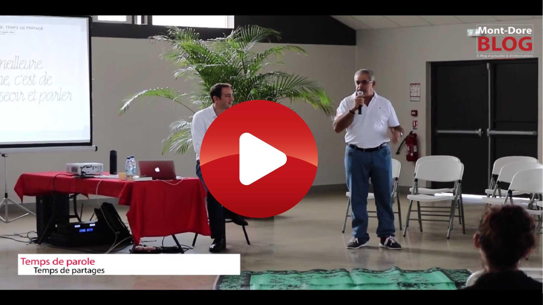 temps de parole 02 extrait 01 Temps de parole, temps de partage dans la commune du Mont Dore