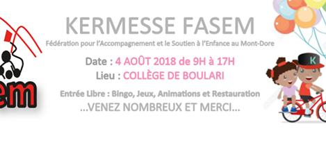 Kermesse de la FASEM
