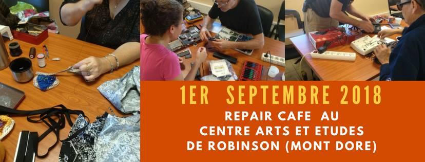 REPAIR CAFE ROBINSON