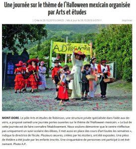 Halloween Arts et Etudes du Mont Dore 274x300 Halloween Arts et Etudes du Mont Dore