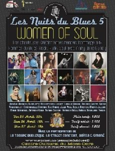 LES NUITS DU BLUES 5 WOMEN OF SOUL