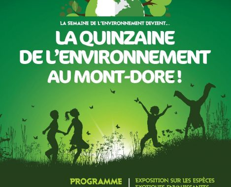 Quinzaine de lenvironnement au Mont Dore 2019
