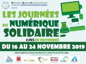 JNS VISUEL SQUARE 01 300x225 Les journées du Numérique Solidaire du 16 au 24 Novembre 2019