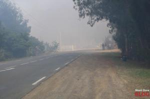 %name DIAPORAMA. Grand Incendie : Mont Dore en janvier 2018